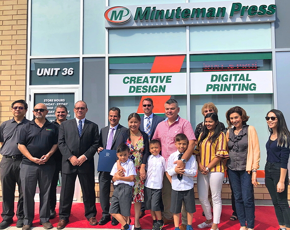 New Minuteman franchisee