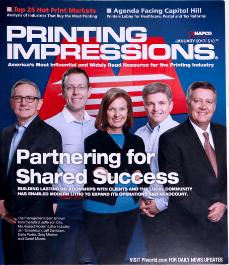 Last American publication for the printing industry left.