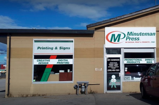 Minuteman Press of Penricton B.C.