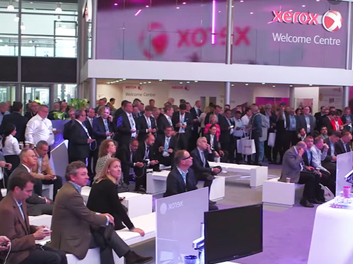 Xerox booth from Drupa 2016